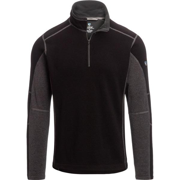 キュール メンズ ジャケット&ブルゾン アウター Revel 1/4-Zip Sweater - Men's Black/Steel