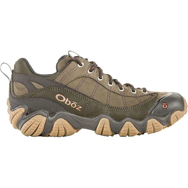 オボズ メンズ ハイキング スポーツ Firebrand II Low Leather Hiking Shoe - Men's Stone