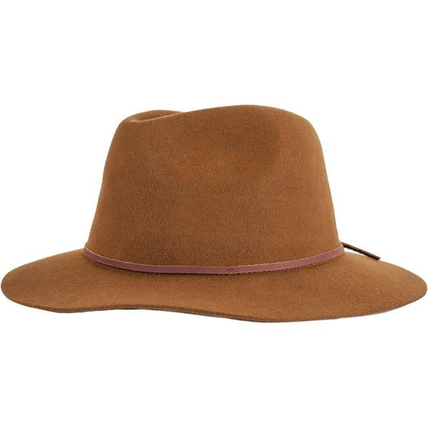 ブリクストン メンズ 帽子 アクセサリー Wesley Fedora Coffee