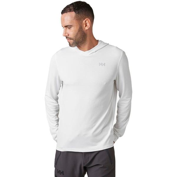 ヘリーハンセン メンズ シャツ トップス HH Lifa Active Solen Hoodie - Men's White