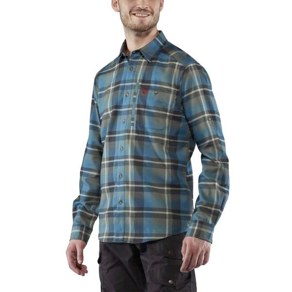 フェールラーベン メンズ シャツ トップス Fjallglim Flannel Shirt - Men's Black