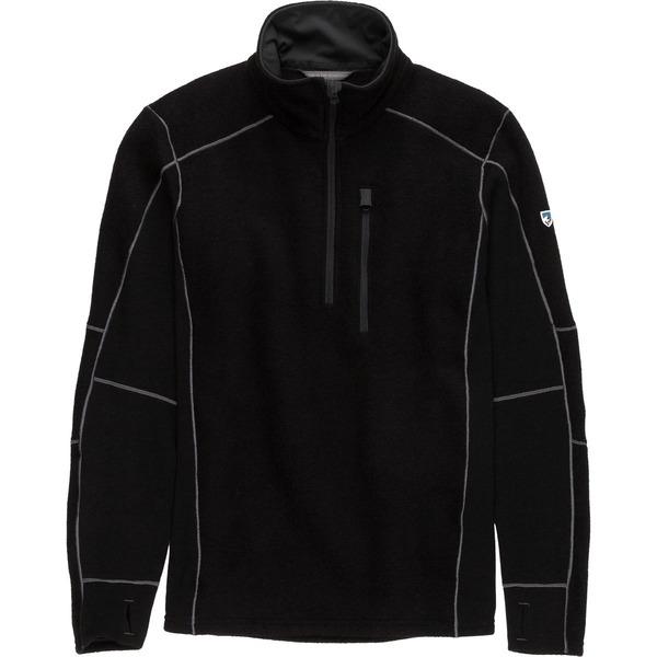 キュール メンズ ジャケット&ブルゾン アウター Interceptr 1/4-Zip Fleece Jacket - Men's Black