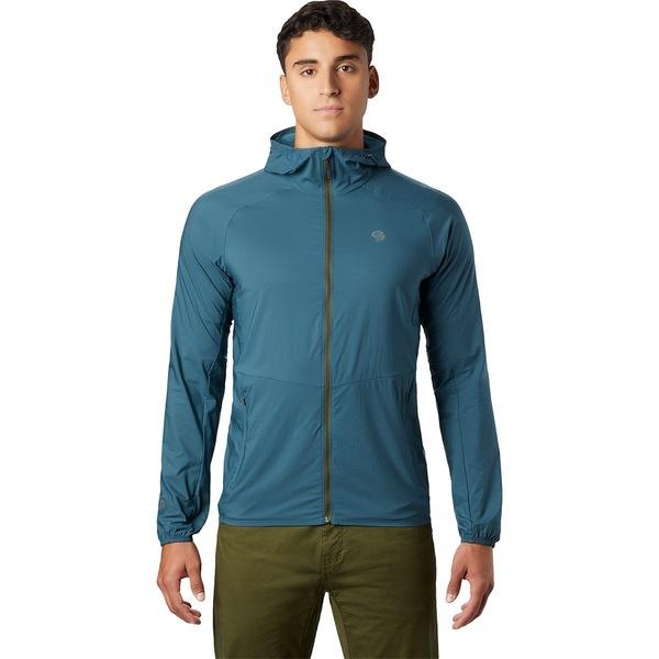 マウンテンハードウェア メンズ ジャケット&ブルゾン アウター Kor Preshell Hooded Jacket - Men's Icelandic