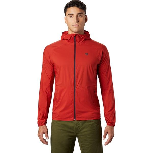 マウンテンハードウェア メンズ ジャケット&ブルゾン アウター Kor Preshell Hooded Jacket - Men's Desert Red