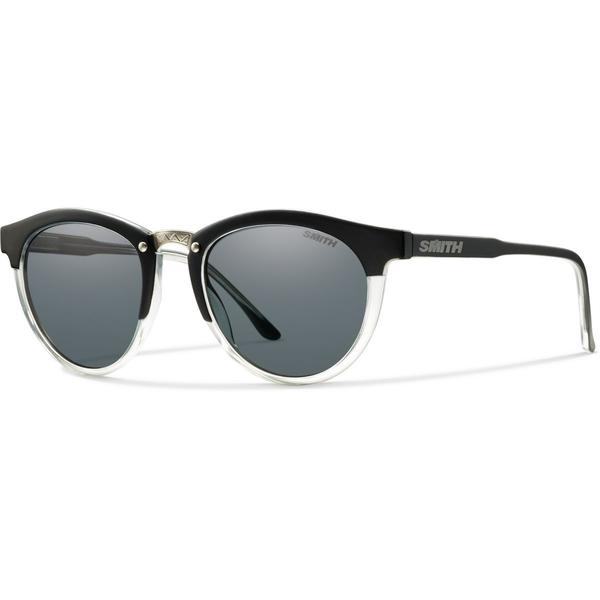 スミス レディース サングラス&アイウェア アクセサリー Questa Polarized Sunglasses - Women's Matte Black Crystal/Gray Polarized