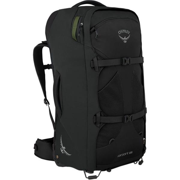オスプレーパック レディース ボストンバッグ バッグ Farpoint Wheeled 65L Travel Pack Black