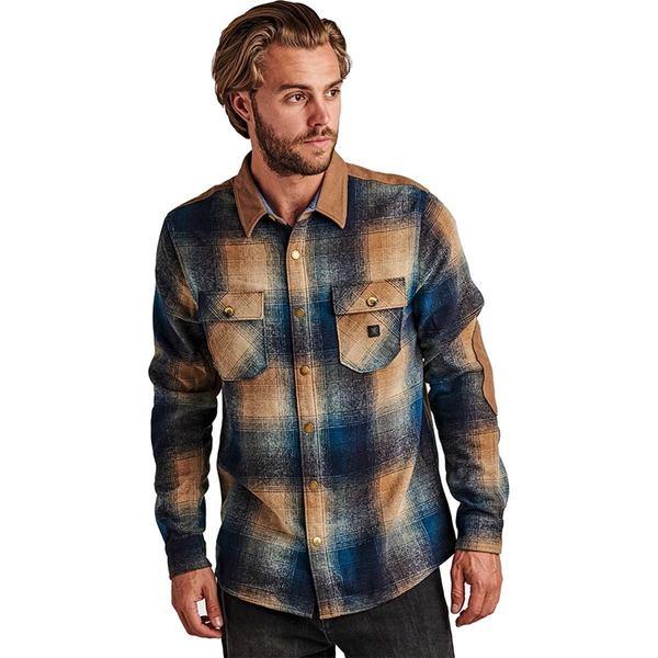 ロアークリバイバル メンズ シャツ トップス Nordsman Flannel Shirt - Men's Navy