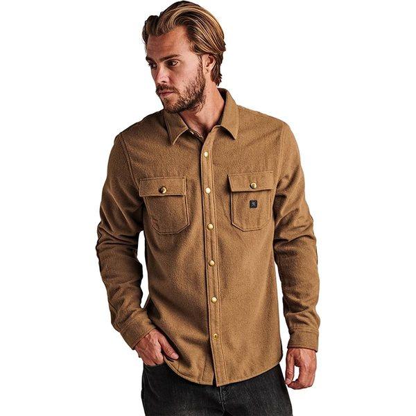 ロアークリバイバル メンズ シャツ トップス Nordsman Flannel Shirt - Men's Dark Khaki