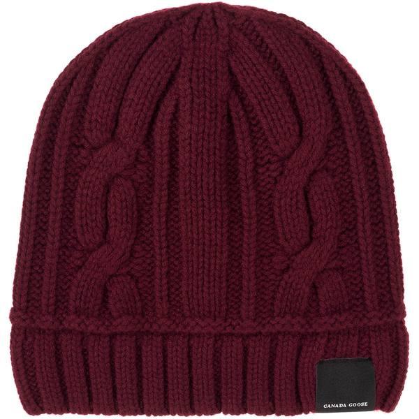 カナダグース レディース 帽子 アクセサリー Cable Toque - Women's Elderberry