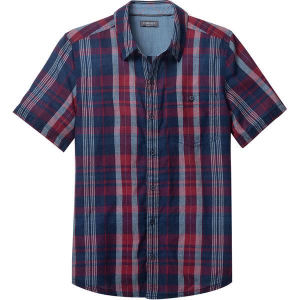 ドード アンドコー メンズ シャツ トップス Beckmen Short-Sleeve Slim Shirt - Men's Brick Red