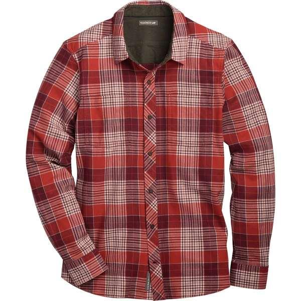 ドード アンドコー メンズ シャツ トップス Flannagan Long-Sleeve Shirt - Men's Barbera Red