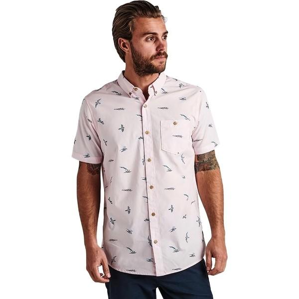 ロアークリバイバル メンズ シャツ トップス Shearwater Twilight Shirt - Men's Pink