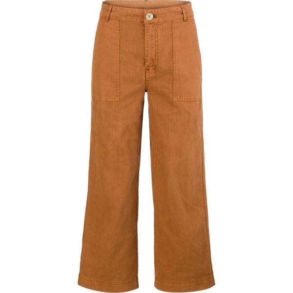 フリーピープル レディース カジュアルパンツ ボトムス Sunday Skies Straight Leg Pant - Women's Brown