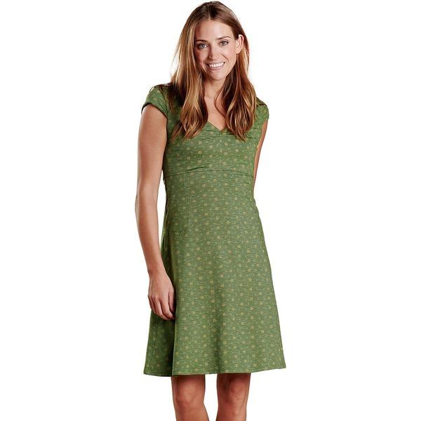 ドード アンドコー レディース ワンピース トップス Rosemarie Dress - Women's Bronze Green Bandana Print