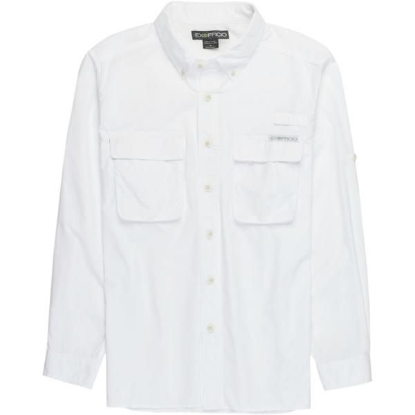 エクスオフィシオ メンズ シャツ トップス Air Strip Long-Sleeve Shirt - Men's White