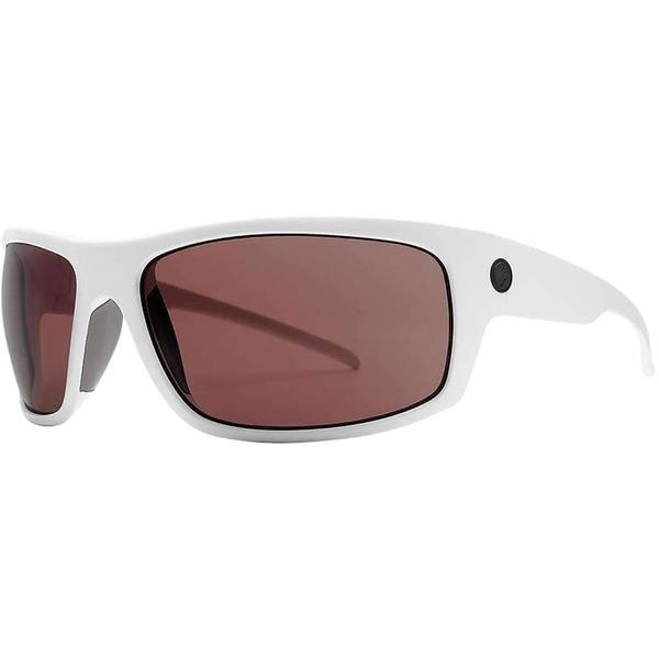 エレクトリック メンズ サングラス・アイウェア アクセサリー Tech One XL Polarized Sunglasses - Men's Matte White/Polarized+ Rose