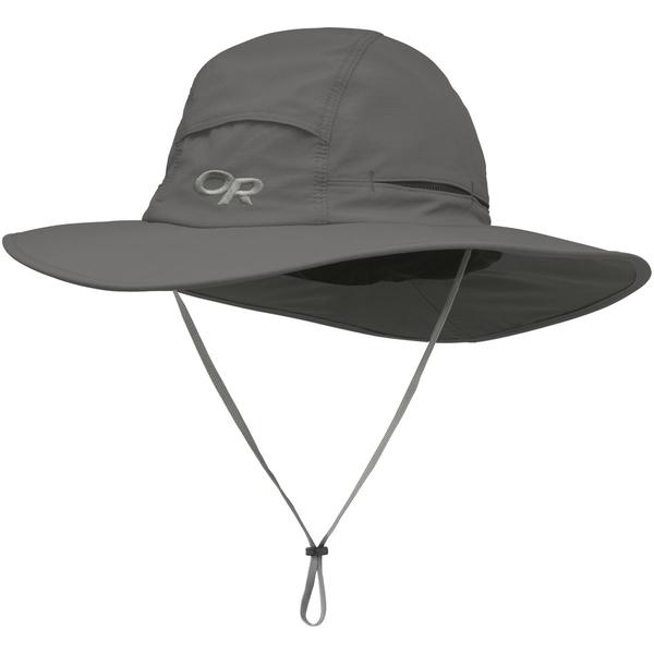 アウトドアリサーチ メンズ 帽子 アクセサリー Sombriolet Sun Hat - Men's Pewter