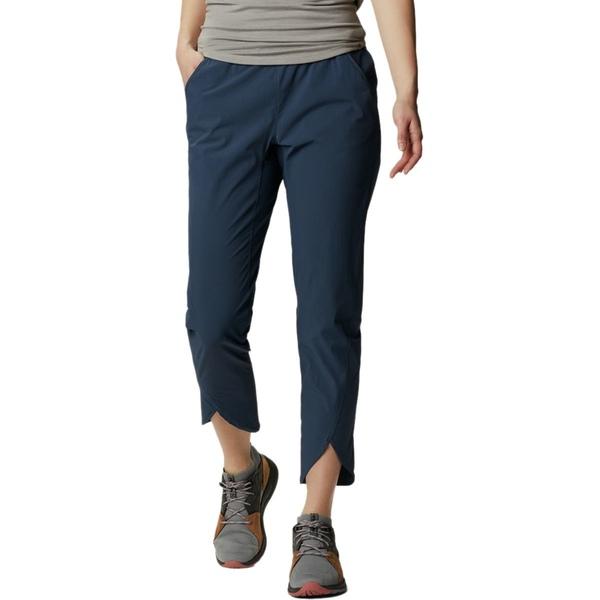 マウンテンハードウェア レディース カジュアルパンツ ボトムス Railay Ankle Pant - Women's Zinc Printed