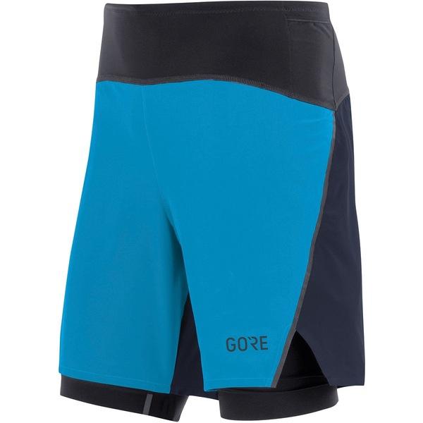 ゴアウェア メンズ ハーフ&ショーツ ボトムス R7 2in1 Short - Men's Dynamic Cyan/Orbit Blue