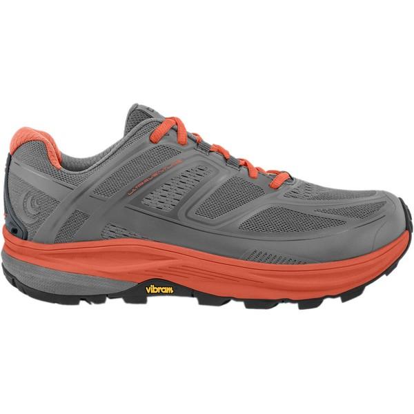 トポアスレチック レディース ランニング スポーツ Ultraventure Trail Running Shoe - Women's Grey/Tangerine 2