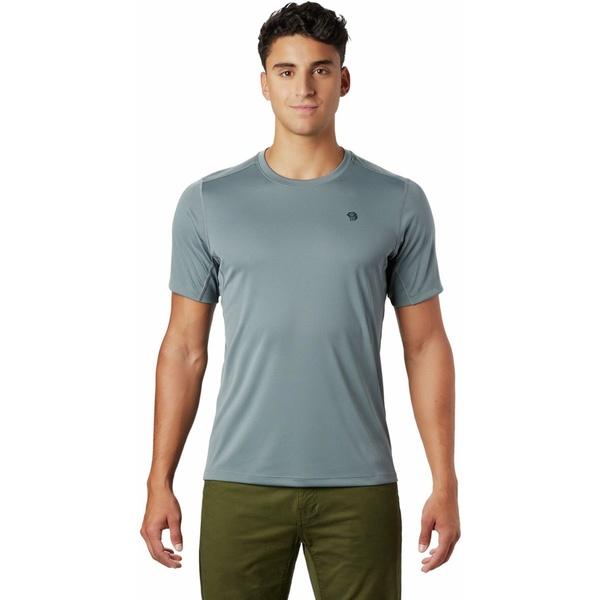 マウンテンハードウェア メンズ シャツ トップス Wicked Tech Short-Sleeve T-Shirt - Men's Light Storm