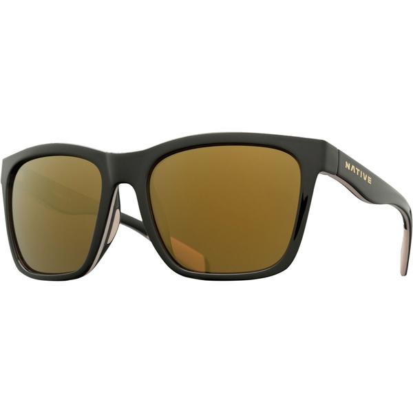 ネイティブアイウェア メンズ サングラス・アイウェア アクセサリー Braiden Sunglasses Gloss Black/Pale Pink/Gloss Black