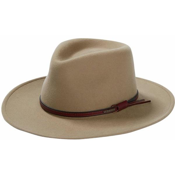ステトソン メンズ 帽子 アクセサリー Bozeman Hat Mushroom