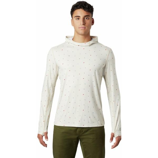 マウンテンハードウェア メンズ シャツ トップス Crater Lake Long-Sleeve Hooded Shirt - Men's Lightlands Cam Print