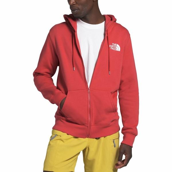 ノースフェイス メンズ ニット&セーター アウター Half Dome Full-Zip Hoodie - Men's Sunbaked Red