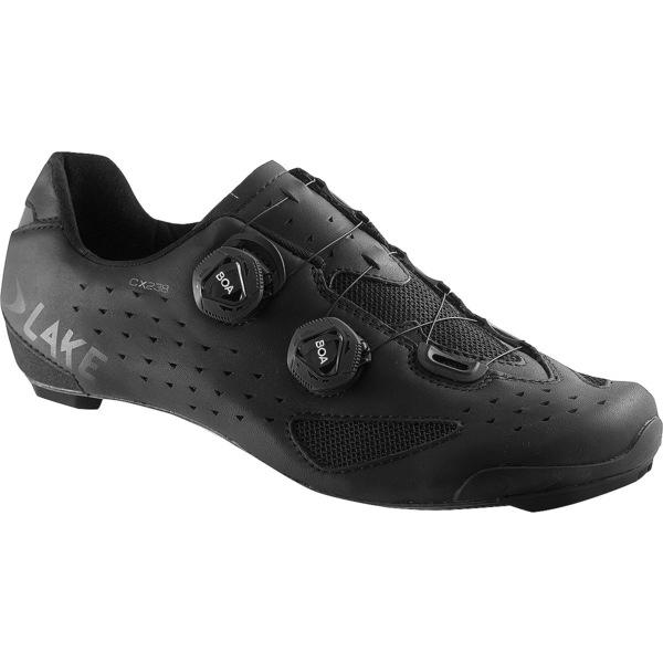 レイク メンズ サイクリング スポーツ CX238 Wide Cycling Shoe - Men's Black/Black