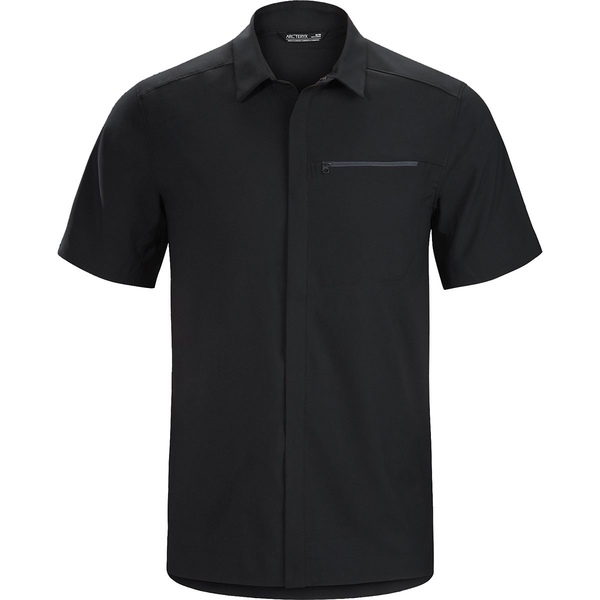 アークテリクス メンズ シャツ トップス Skyline Short-Sleeve Shirt - Men's Black