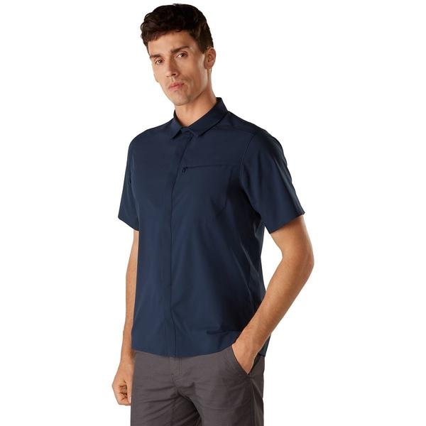 アークテリクス メンズ シャツ トップス Skyline Short-Sleeve Shirt - Men's Cobalt Moon