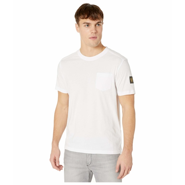 ベルスタッフ メンズ シャツ トップス Thom 2.0 T-Shirt White