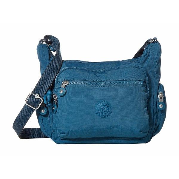 キプリング レディース ハンドバッグ バッグ Gabbie Small Crossbody Bag Mystic Blue