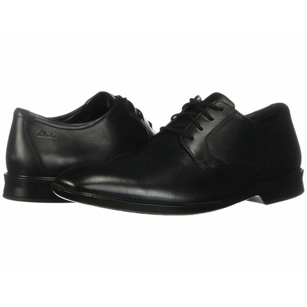 クラークス メンズ ドレスシューズ シューズ Bensley Lace Black Leather