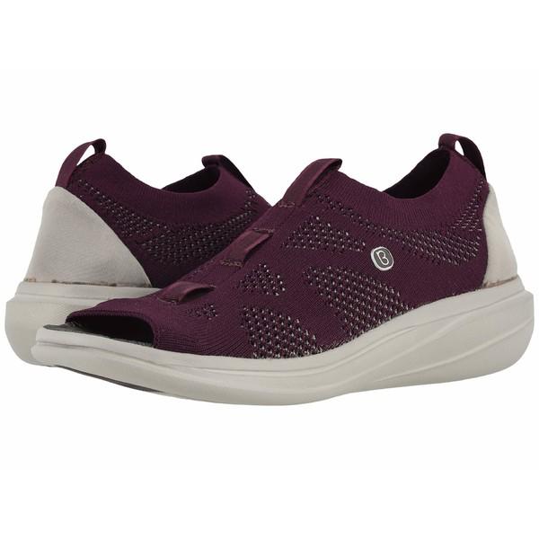 ビジーズ レディース スニーカー シューズ Charm Purple Knit