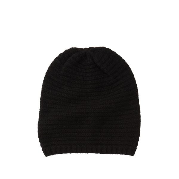ポートラノ セール特価品 レディース アクセサリー 帽子 BLACK 公式通販 Beanie Cashmere 全商品無料サイズ交換 Shawl
