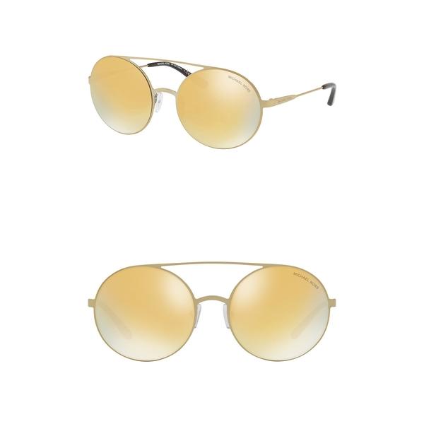 マイケルコース セール特価 レディース アクセサリー サングラス アイウェア PALE Cabo Round GOLD Sunglasses 55mm 全商品無料サイズ交換 当店限定販売