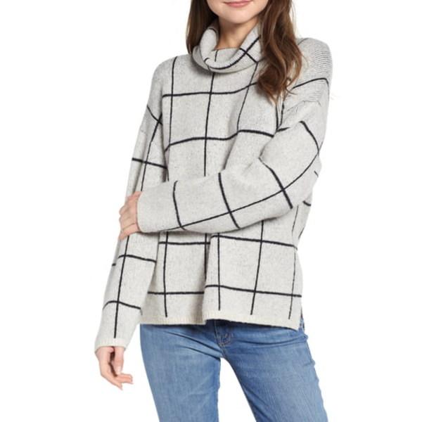 OAK メイドウェル Turtleneck Sweater アウター HEATHER レディース ニット&セーター Windowpane