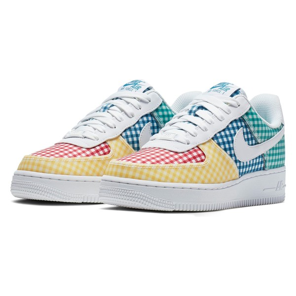ナイキ レディース スニーカー シューズ Nike Air Force 1 '07 QS Sneaker (Women) White/ White-Mystic Green-Gym