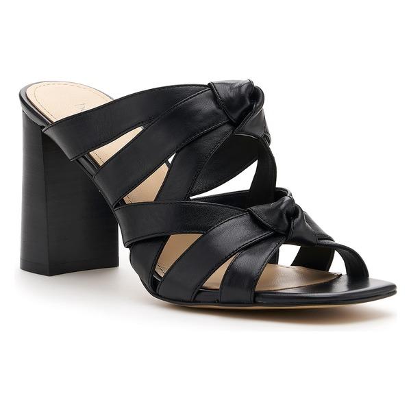 ボトキエ レディース サンダル シューズ Botkier Raffe Strappy Slide Sandal (Women) Black Suede