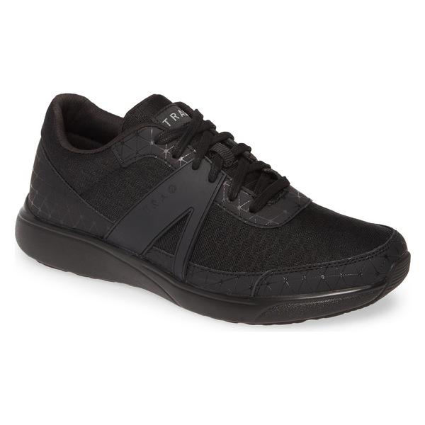 アレグリア レディース スニーカー シューズ Alegria Qarma Sneaker (Women) Black Swell