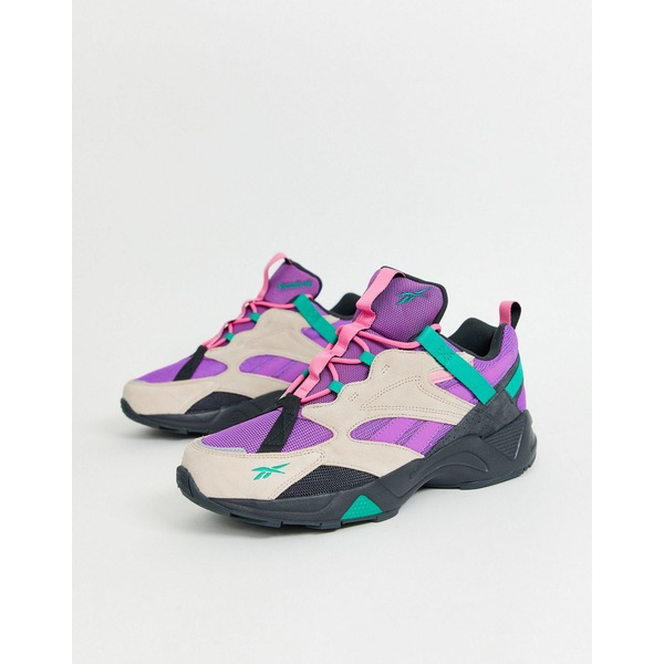 リーボック メンズ スニーカー シューズ Reebok Aztrek 96 sneakers trail edition purple Pu1 - purple 1