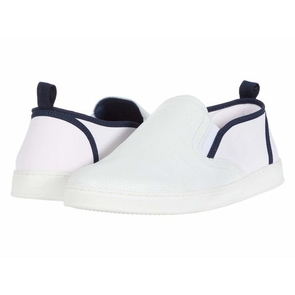 パルクシティブーツ メンズ スニーカー シューズ Pier White Punched Leather/White Neo
