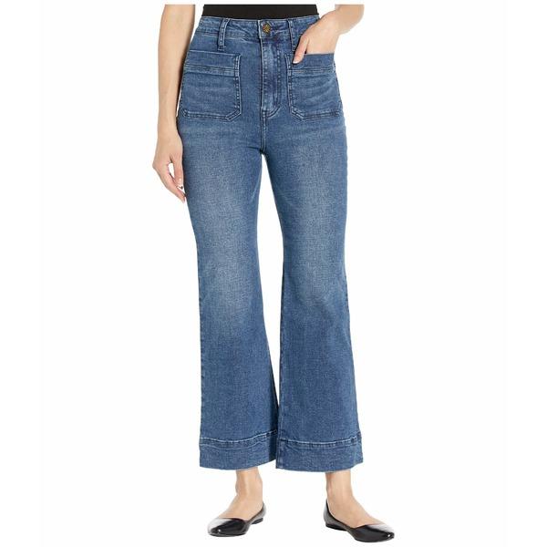 ウミーユアムーム レディース デニムパンツ ボトムス Cropped Farrah Trousers in Stillwater Stillwater