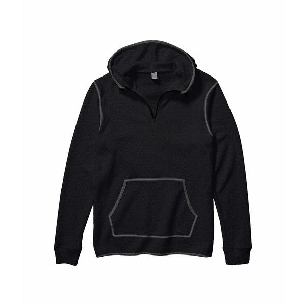 オルタナティヴ メンズ アウター 再入荷/予約販売! パーカー セール特価品 スウェットシャツ Eco Black Grey Outdoor Eco-Teddy 4 1 全商品無料サイズ交換 Zip Hoodie