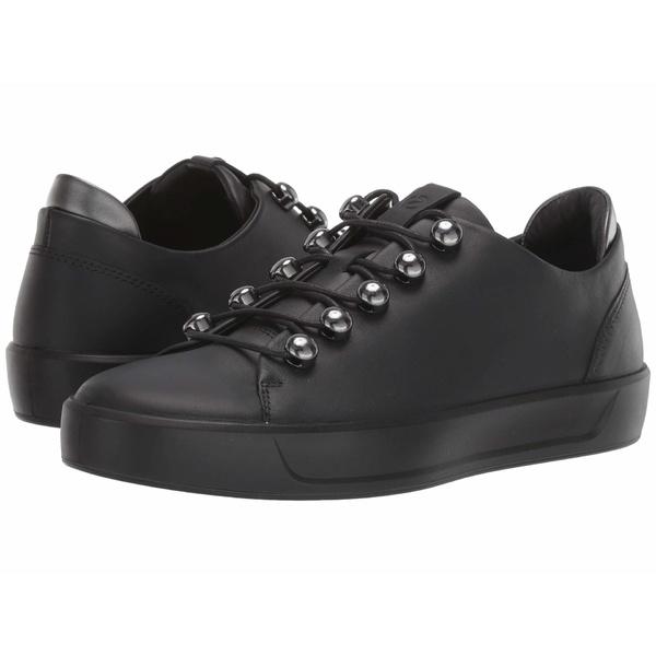 エコー レディース スニーカー シューズ Soft 8 Trend Sneaker Black/Black/Dark Shadow Metallic