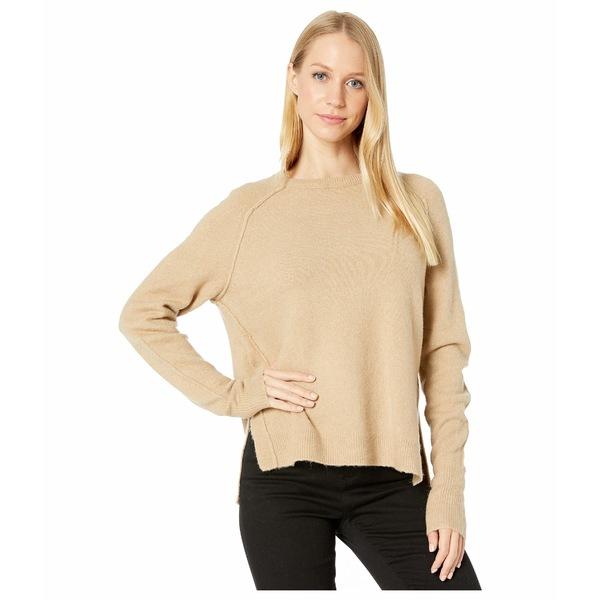 マイケルスターズ レディース ニット&セーター アウター Solana Knits Kennedy Crew Neck Raglan Pullover Sweater Nomad
