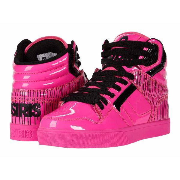 オサイラス メンズ スニーカー シューズ Clone Pink/Drips