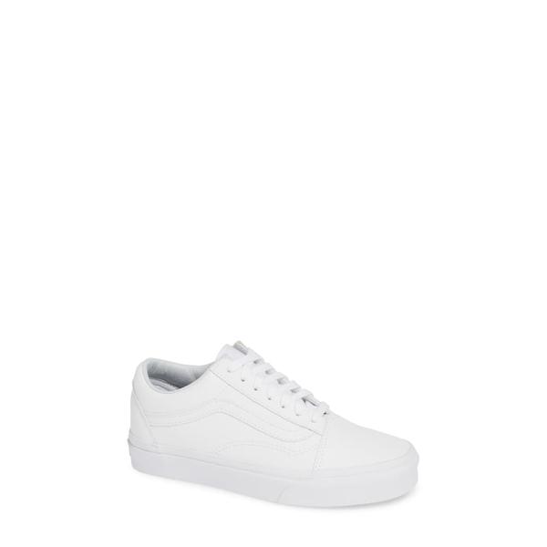 バンズ レディース スニーカー シューズ Old Skool Tumble Sneaker True White